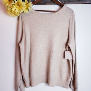 14th & Union Two Way Sweater, nwt size Large